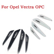 New Car style carbon fiber Car Side Door Edge Protection Guards Trims Stickers for Opel Vectra OPC