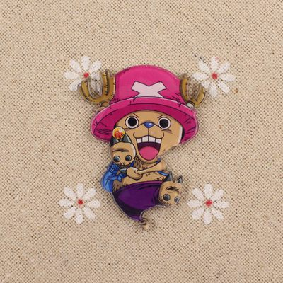 Anime ONE PIECE Tony Chopper Cosplay Acrylic Badges Monkey D. Luffy Brooch Pin Backpack Clothes Cute Decoration Brooches (9)