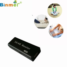 Binmer E5 4G Hotspot Mini 3G/4G Router WiFi Wlan Hotspot AP Client 150Mbps RJ45 USB Wireless Router