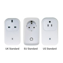2017 New Smart Home Broadlink 16A+Timer EU US Wifi Power Socket Plug Outlet forSmart Phone Wireless Controls for IOS Pad Android