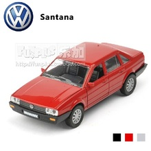 High Simulation Exquisite Model Toys: ShenHui Car Styling Volkswagen Classic Santana Model 1:32 Alloy Car Model Excellent Gifts