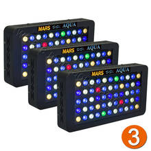 3pcs Mars Aqua 165W Dimmable LED Full Spectrum Grow Fish Tank Reef Coral Aquarium Light(China)