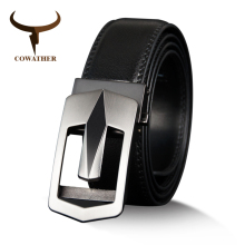 Buy COWATHER Cow Genuine Leather Belts High Men Automatic Vintage Male Belt Brand Ratchet Buckle Belts 110-130cm long for $11.88 in AliExpress store
