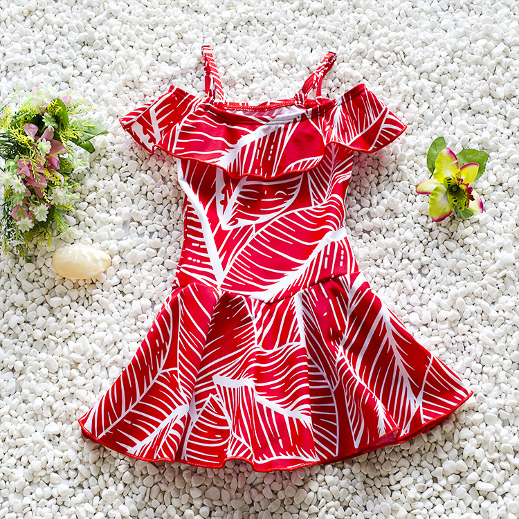 Swimming Suit For Girls Baby Girl Swimwear Swimsuit Girls Kids Female Siamese Skirt S Genuine Material Does Not Fade<br><br>Aliexpress