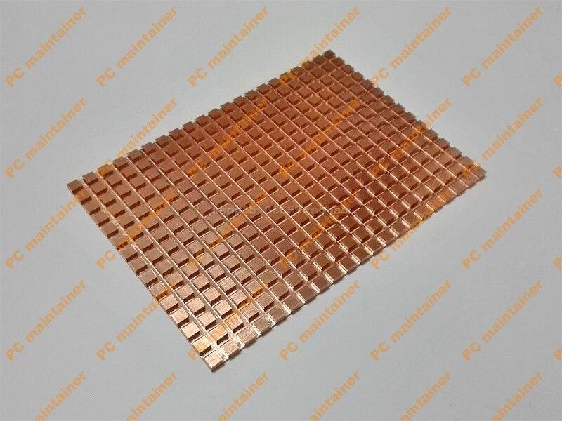 Ultra-thin Pure Copper 2.5 inch for SATA3 Desktop Notebook SSD Heatsink 100*70*3.0mm Copper Heatsink With conductive adhesive<br>