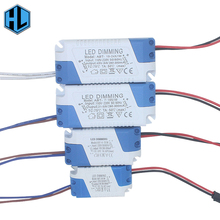 3W-24W Safe Plastic Shell LED Driver Dimmable AC85-265V LightIing Transformer DC3-85V Power Supply Adapter for Led Lamp Bulb