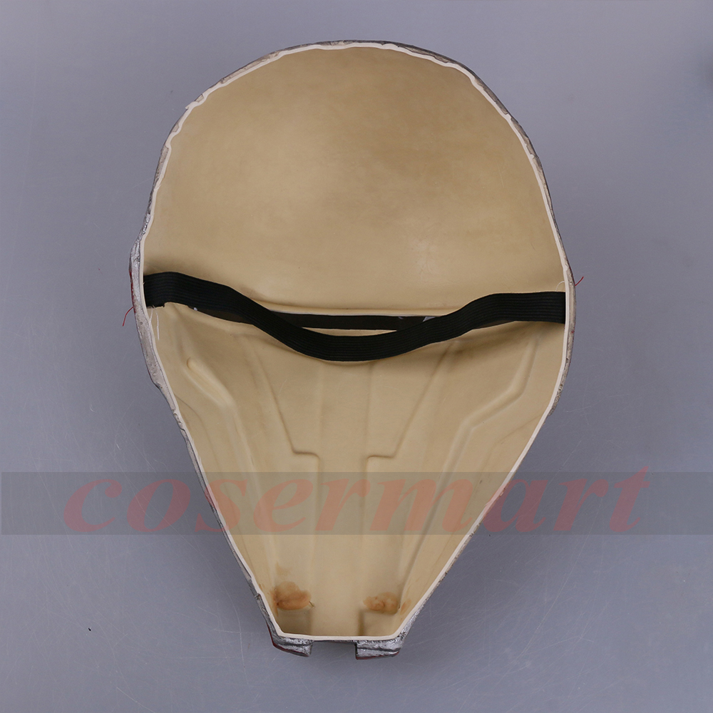 Movie Star Wars Knights of the Old Republic Darth Revan Mask Cosplay Helmet Masks Adult Latex Halloween Party Prop (9) -