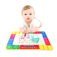 Baby Water Drawing Toys Aqua doodle Mat&1 Magic Pen Water Drawing board 4 color