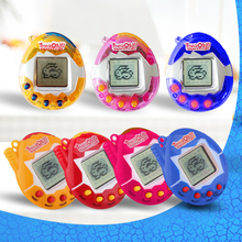 New 2017 Tamagochi Pet Dinosaur Egg 90S Nostalgic 49 Pets in One Virtual Cyber Small Toys Electronic Christmas Gift for Children(China)