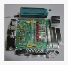 DIY learning board kit set spare parts 51 / AVR microcontroller development board learning board STC89C52