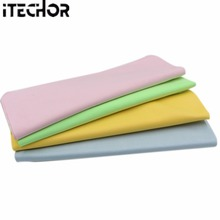 iTECHOR 1pcs Large Microfiber Cleaning Cloth for Screens, Lenses, Glasses 30*30cm - Color Random