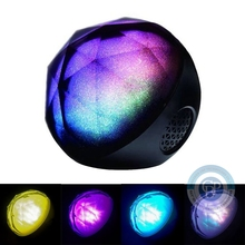 2016 New Design Magic Color Ball Wireless Bluetooth Speaker Portable Hifi  Ball Speaker with remote control LED Flash Light