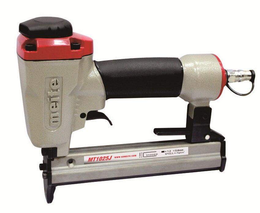 MEITE MT1025J 7/16(11.2MM) Crown 22 GA Pneumatic hot air Stapler nailers for furniture Powerful Nail Gun Air Staple <br><br>Aliexpress