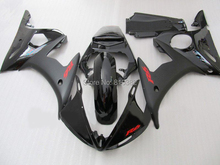 Motorcycle Fairing kit for YZFR6 03 04 05 YZF R6 2003 2004 2005 YZF600 TOP matte&gloss black Fairings set+7gifts YE05