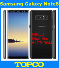 "Samsung Galaxy Note8 Note 8 N9500 64GB Dual Sim Unlocked N9500 4G LTE Android Phone Octa Core 6.3"" 12MP RAM 6GB ROM 64GB(China)"