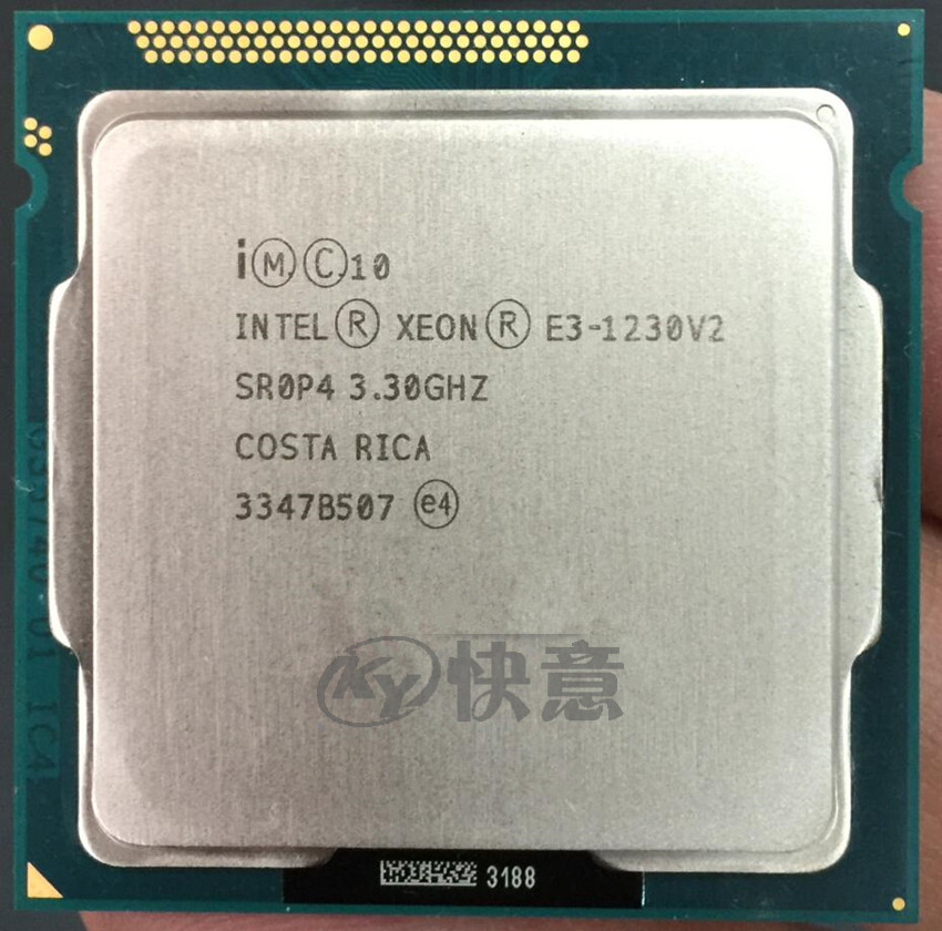 Intel Desktop CPU Processor Computer LGA1155 E3-1230 v2 Quad-Core PC title=