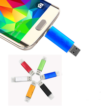 OTG usb flash drive 4gb 8gb 16gb 32gb 64gb Android smartphone pen drive high speed USB Stick Memory 2.0 U Disk(China)