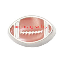 10pcs America football  floating  charms for glass locket  FC-027  ,Min  amount $15 per order mixed items