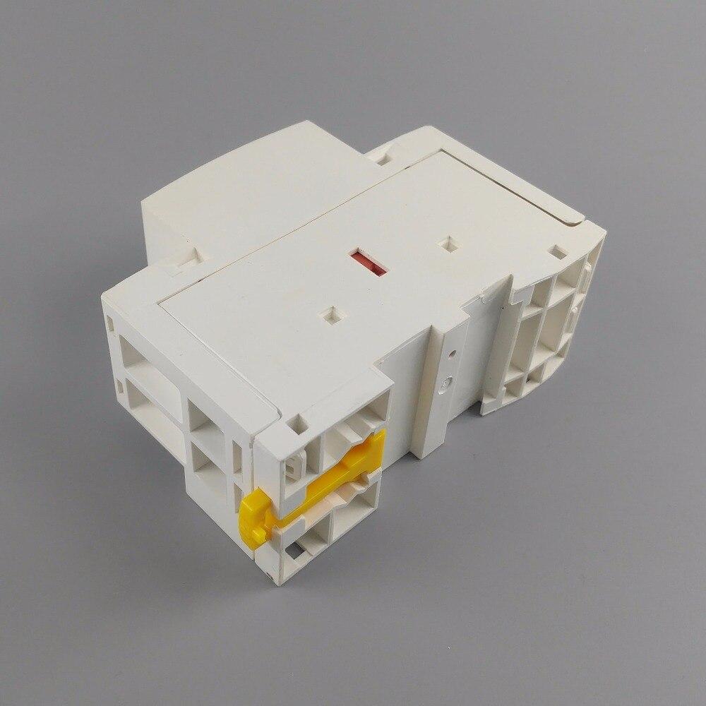 Модульный контактор переменного тока TOCT1 2P 63a 1NC 1NO 220V/230V 50/60HZ Din rail бытовой|modular