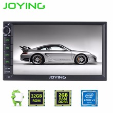 "JOYING 7"" Car Stereo 2GB RAM +32GB ROM Audio Cheap Double Din Car Head Unit Multi-media Player For Most Nissan Toyota Kia Honda(China)"