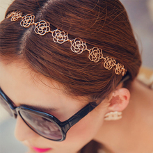 Buy LNRRABC Hollow Elastic Hair Bands Women Flower Headbands Girls Hair Accessories Wedding Headwear diademas para mujer for $1.05 in AliExpress store