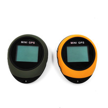 Mini GPS Receiver Navigation Handheld Location Finder USB Rechargeable with Compass for Outdoor Sport Travel