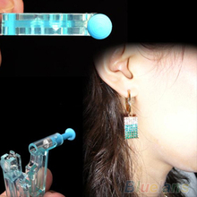 2016 Disposable Safety Ear Piercing Gun Unit Tool With Ear Stud Asepsis Pierce Kit 76TK 7EEU 8A5W