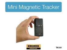 TK101 Mini Waterproof GPS Tracker for Car Personal Magnetic 3000mAh Rechargeable Battery FREE APP Web Tracking Software(China)
