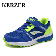 KERZER 2017 New Children Sneakers Brand Shoes Breathable Kids Sport Shoes Summer Kd Running Shoes Blue Kids Trainers Boys Cheap