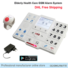 Telephone Alarm System Wireless APP Control Home Security Burglar GSM SMS Elderly Care Panel SOS Call Temperature Monitoring T2