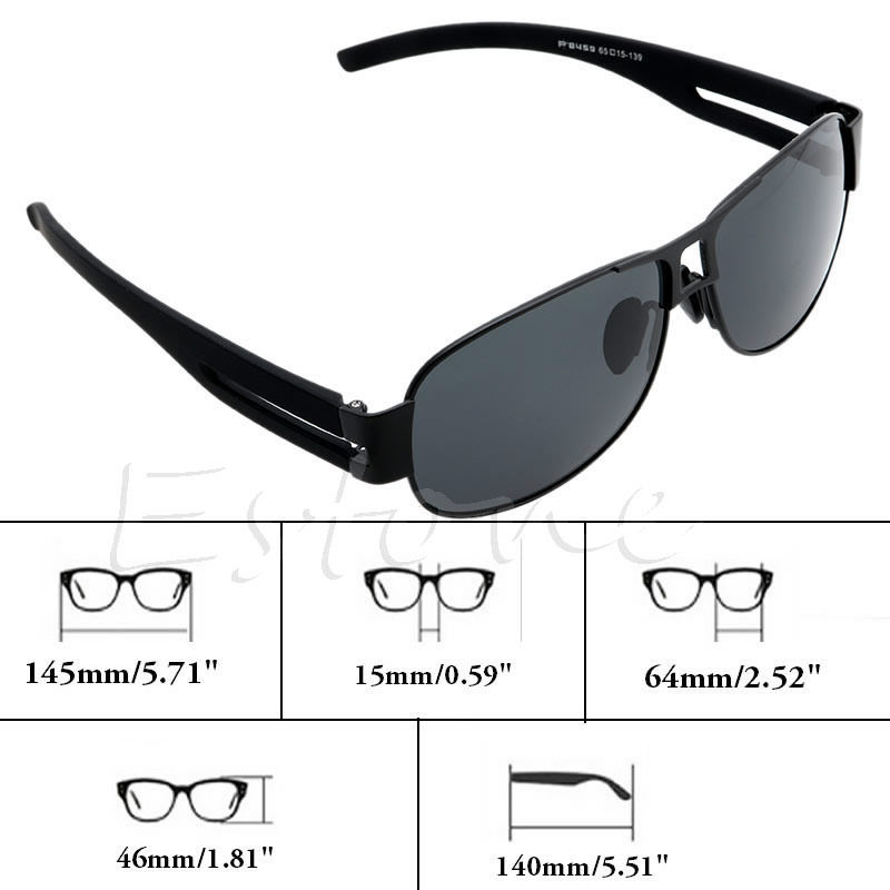 Mens Outdoor Sports Eyewear Polarized Sunglasses Driving-glasses + Glasses Case<br><br>Aliexpress