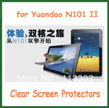 5pcs Clear Screen Protectors Protective Film for Yuandao / Window N101 2 N101 II 10.1 inch Tablet Size 257x175mm(China)