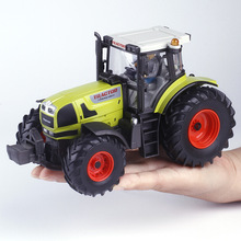 Alloy engineering car tractor toy model farm vehicle belt boy toy car model children's Day Xmas gifts