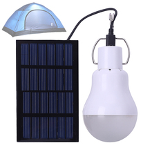 KK.BOL 15w 12LED Portable Charging Solar Powered Led Bulb Lamp with PVC Lampshade Heat Dissipation for Camping / Cooking