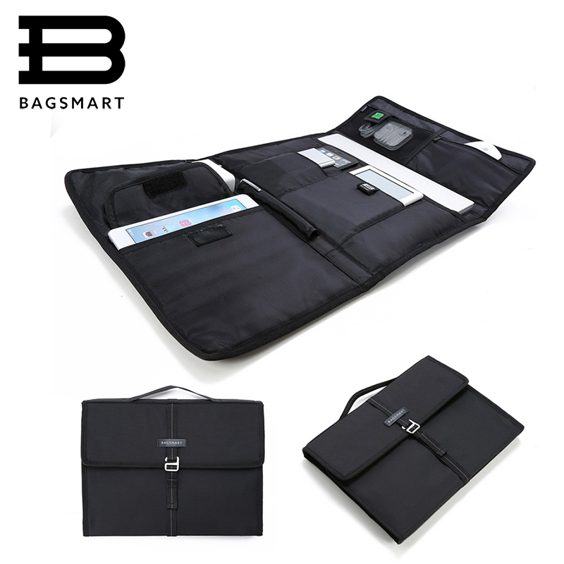 "BAGSMART New Travel Bag Laptop Bag Tablet Portfolio Case for MacBook Pro13""/ MacBook Air/ Microsoft Surface Pro/ iPad mini(China (Mainland))"