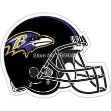 Baltimore Ravens helmet Flag 3ftx5ft Banner 100D Polyester flag white sleeve with 2 Metal Grommets double stitched 40022(China)