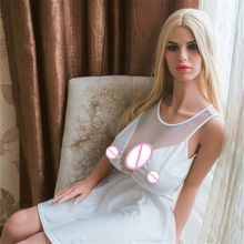 Buy real silicone sex dolls robot european anime love doll realistic toys men big ass sexy doll 152cm vagina real pussy