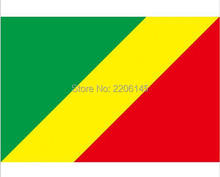Republic of Congo national flag 3ftx5ft banner flag 100D Polyester Flag metal Grommets 90x150cm High quality