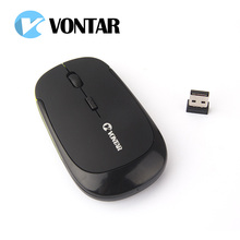 VONTAR 2.4G wireless mouse USB Receiver ultra thin Slim Mini Wireless Optical Mouse Mice for Laptop PC Optical Gaming Mouse