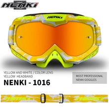 Free shipping 1pcs NENKI Motocross Off-Road Glasses Riding Biker Sunglasses Choppers Glasses Lens Safety Motorcycle Glasses