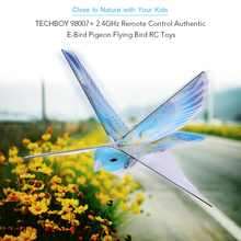 Flying RC Bird in RC Air planes 98007+ 2.4GHz Remote Control E-Bird Flying Birds Electronic Mini RC Drone Toys Helicopter