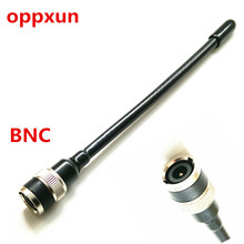 OPPXUN UHF BNC rubber antenna for ICOM IC  U80E U82 V85 V85E F3S VX200 VX500,for KENWOOD TK308 etc walkie talkie