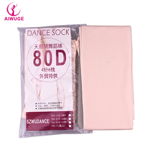 Nude/ White/Black Ballet Dance Tights Child Kids Baby Girl Soft Pantyhose 80D(China)