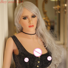 Silicone Sex Doll 148cm Big Boobs Soft Solid Skin Meterial Life Size Female Sex Doll For Men Sex Black Nipple Vaginal Real Wife(China)