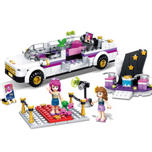 265 pcs City Friend Princess Pop Star Limo Livi the pop star and Olivia Building Blocks Compatible with legoingly