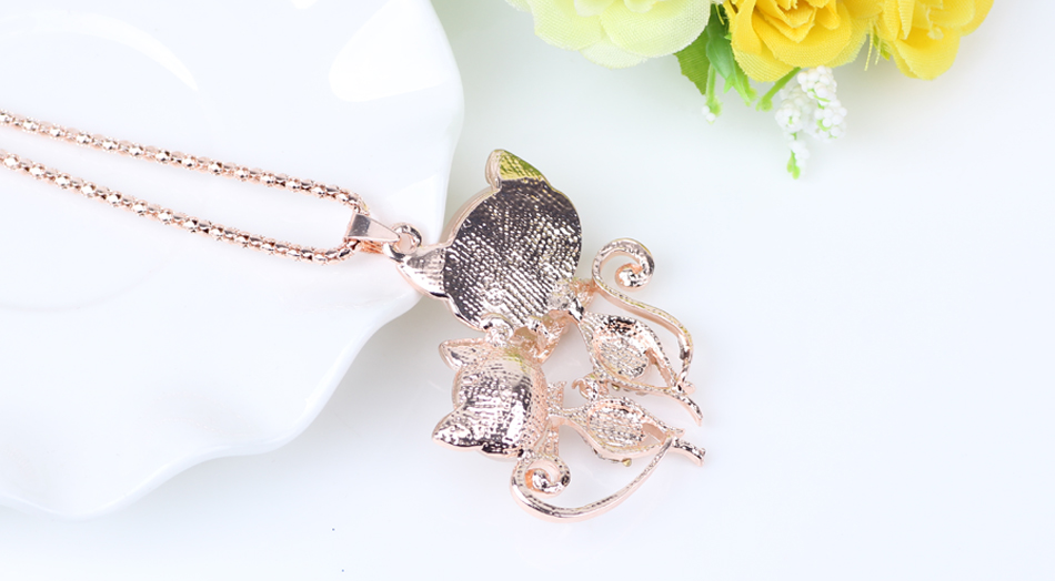BONSNY CAT NECKLACE LONG PENDANT-Cat Jewelry-Free Shipping BONSNY CAT NECKLACE LONG PENDANT-Cat Jewelry-Free Shipping HTB10cIvRVXXXXa5XFXXq6xXFXXXc