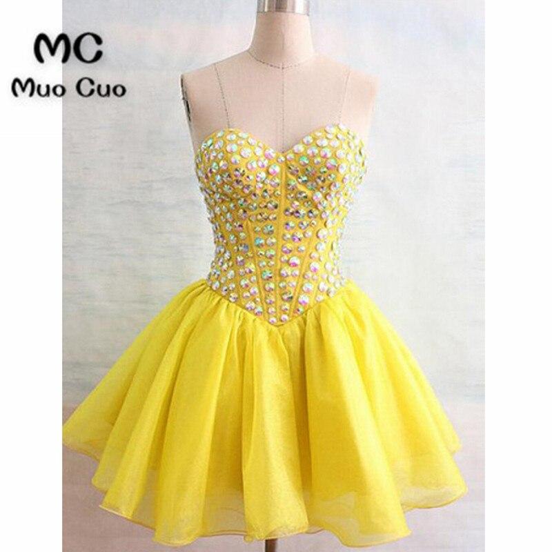 Gorgeous Sweetheart Beading Short Mini Homecoming Dresses Cocktail Dresses55