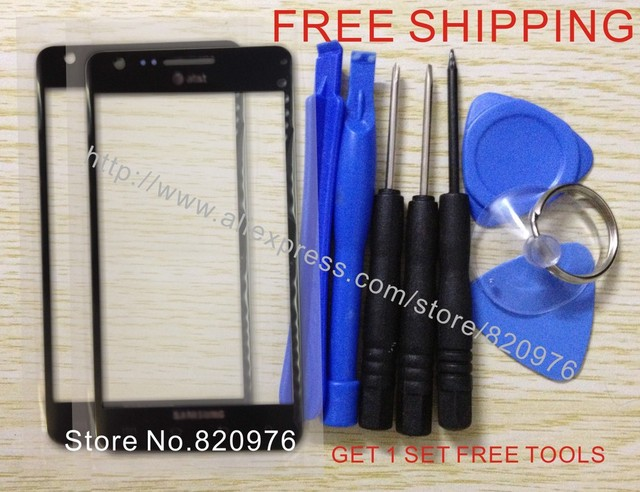 10pcs/Lot Wholesale Original LCD Touch Screen Outer Lens Top Replacement Glass for Samsung  i777 777 (Singa) FreeShipping