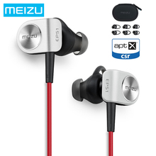 Original Meizu EP51 Wireless Bluetooth Earphone Stereo Headset Waterproof Sports Earphone With MIC Microphone Supporting Apt-X(China)