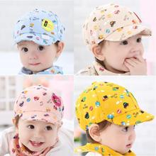 2017 New Fashion Baby Hats Kid Boy Girl Toddler Infant Hat Little Car Baseball Beret Caps Sport style Krystal